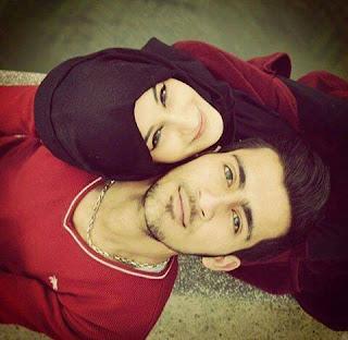 islamic husband wife images