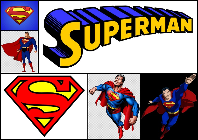 superman birthday clipart - photo #50