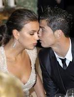 Foto Cristiano Ronaldo dengan Kim Kardashian West
