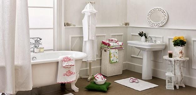 Fotos de ba os color blanco colores en casa for Banos de color blanco