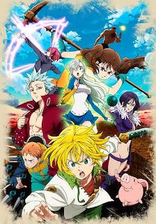 Nanatsu no Taizai Temporadas 1 y 2 1080p Latino – Ingles – Japones