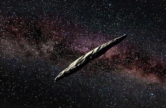 Oumuamua deve mesmo ser uma nave alienígena - Img1