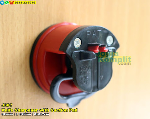 Pengasah Pisau Knife Sharpener With Suction Pad