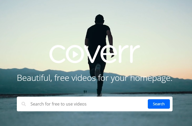 The videos on Coverr are mostly used as a backdrop for websites