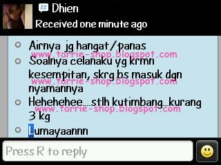 Testimoni Fatloss Jimpness Slimming Herbal