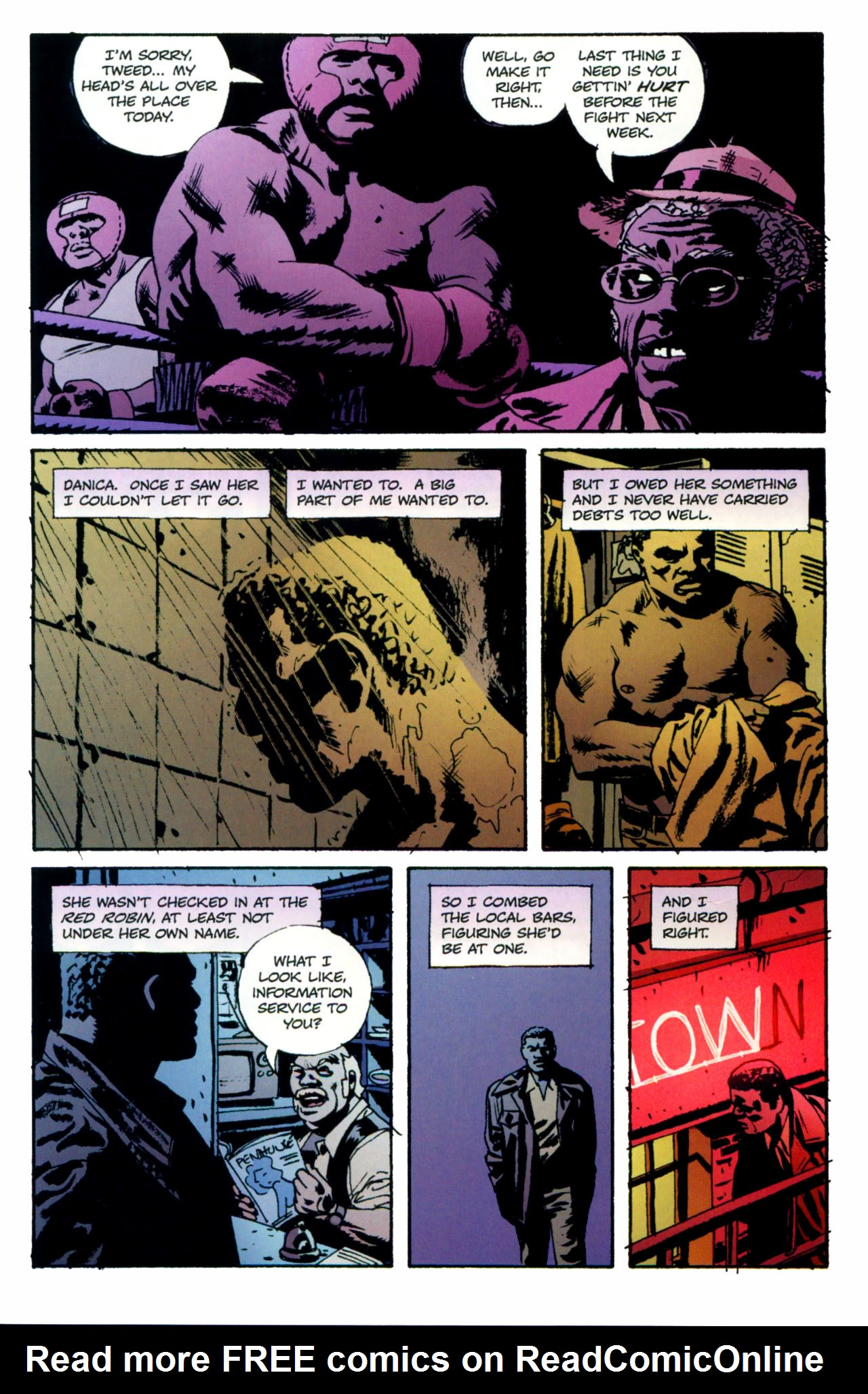Read online Criminal (2008) comic -  Issue #1 - 12