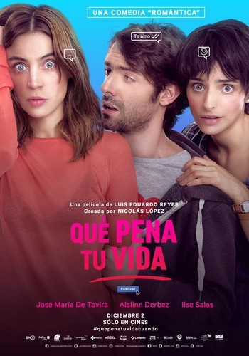 Que pena tu vida (2016) [BRrip 1080p] [Latino] [Comedia]