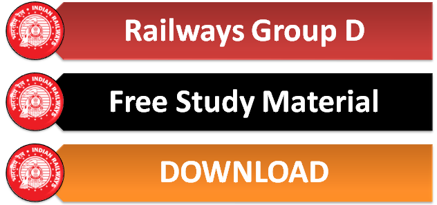 Railways Group D Study Material | Notes Free Download