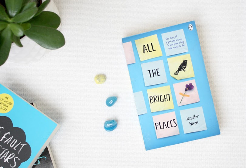 young adult book all the bright places jennifer niven