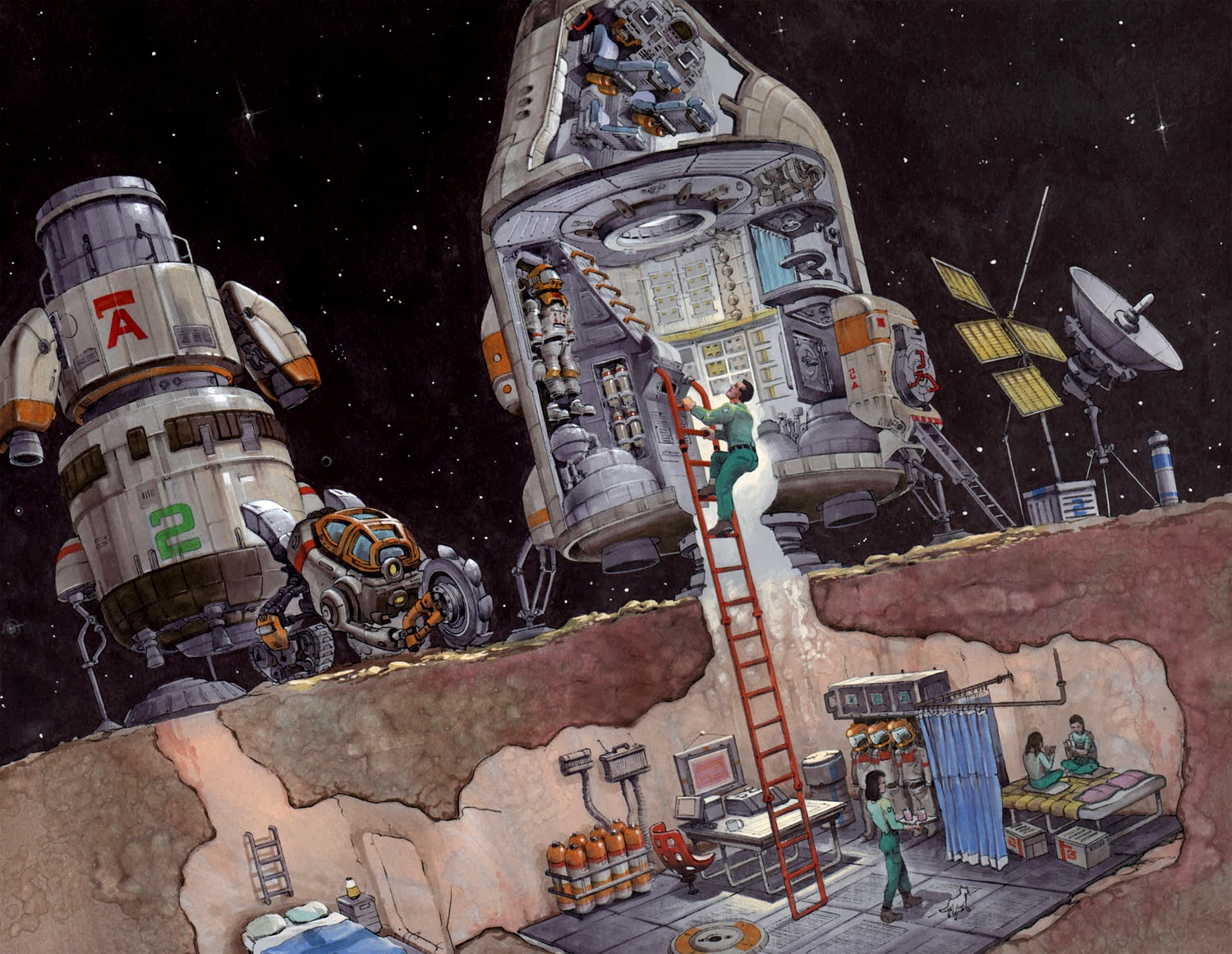 Astronauts Asteroid Mining (page 2) - Pics about space