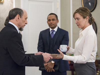 Image of Elizabeth Marvel and F. Murray Abraham in Homeland Season 6 (7)
