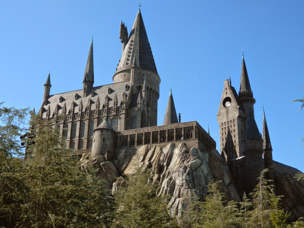 Hogwarts Castle Harry Potter Wizarding World Universal Studios Orlando by garden muses-not another Toronto garden blog