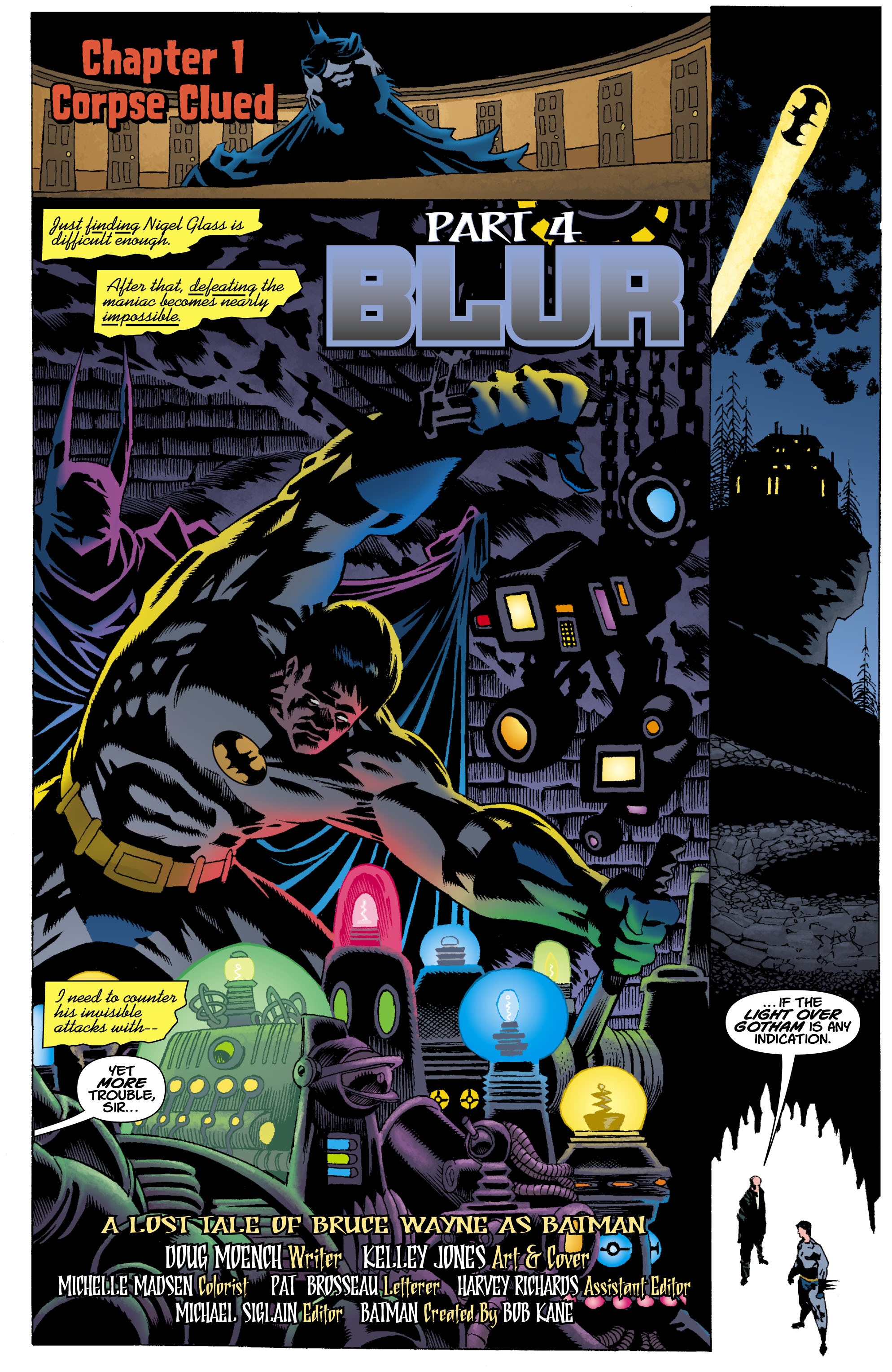 Read online Batman: Unseen comic -  Issue #4 - 2