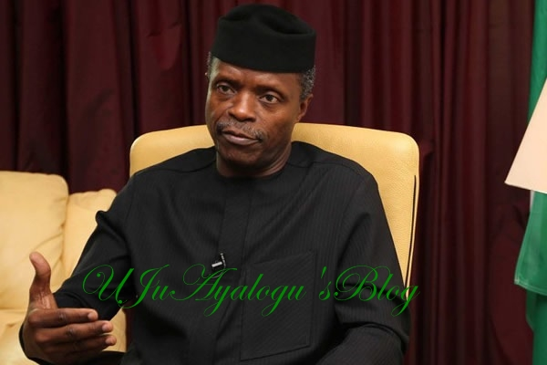 NEPOTISM, Appointment of Redeemed Members Allegation: Ag. President Osinbajo Fights Back, Breaks Silence