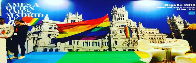 MADRID, una ciudad con mucho ´Orgullo´.