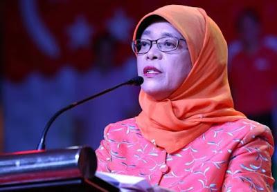 Presiden Singapura Ke 8 Halimah Yacob Presiden Wanita Pertama Singapura
