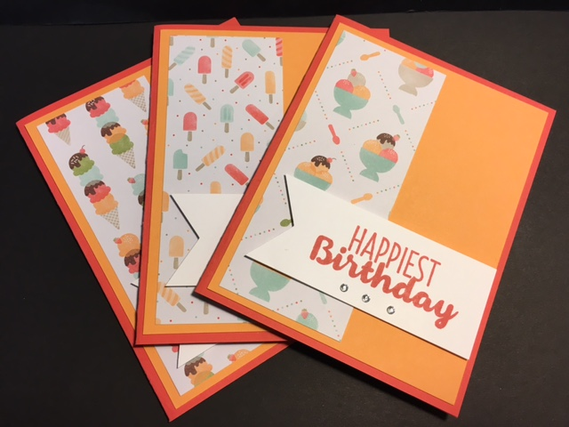 My Creative Corner Cool Treats Birthday Card 2017 Occasions Catalog
