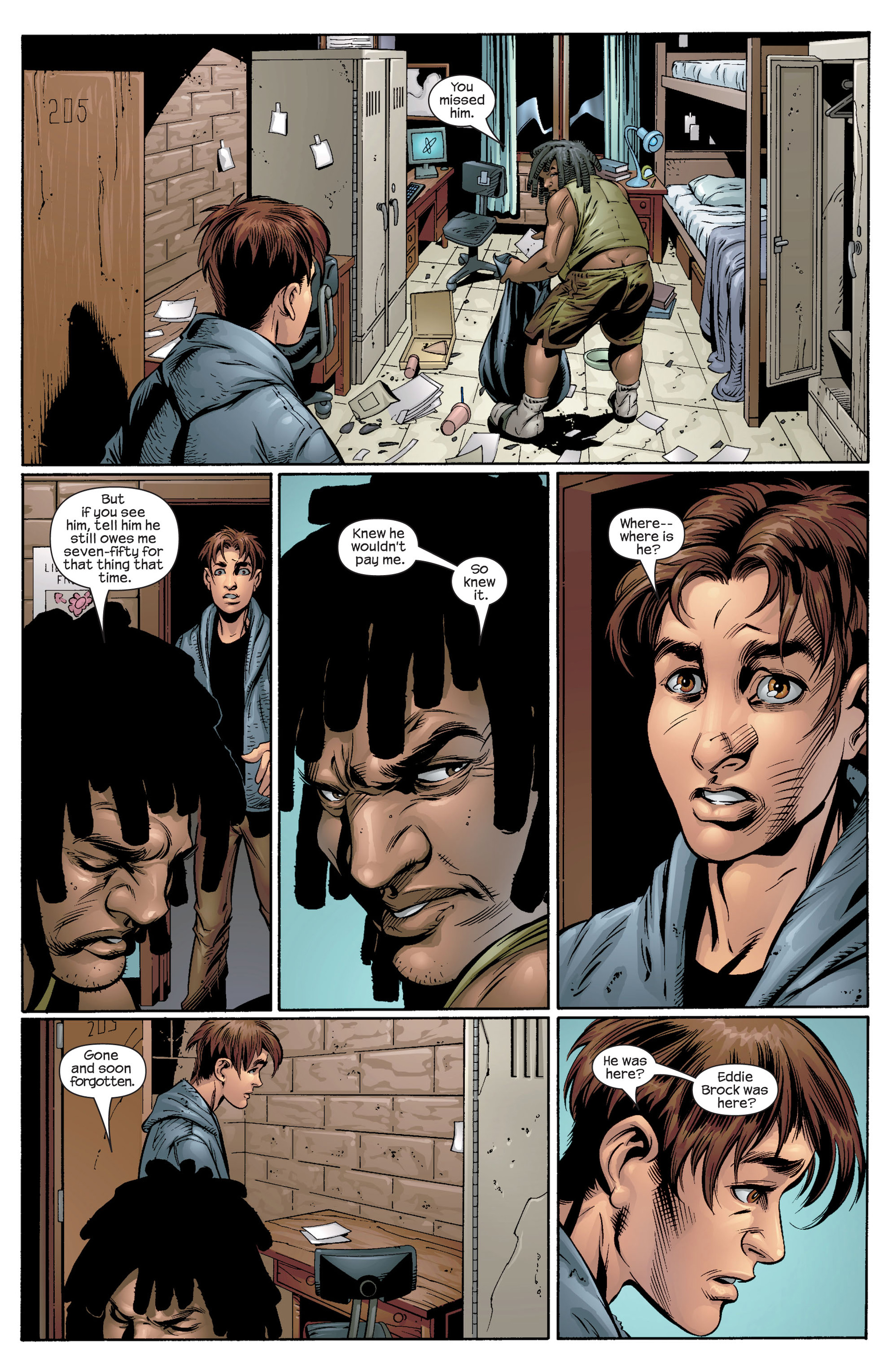 Read online Ultimate Spider-Man (2000) comic -  Issue #39 - 14