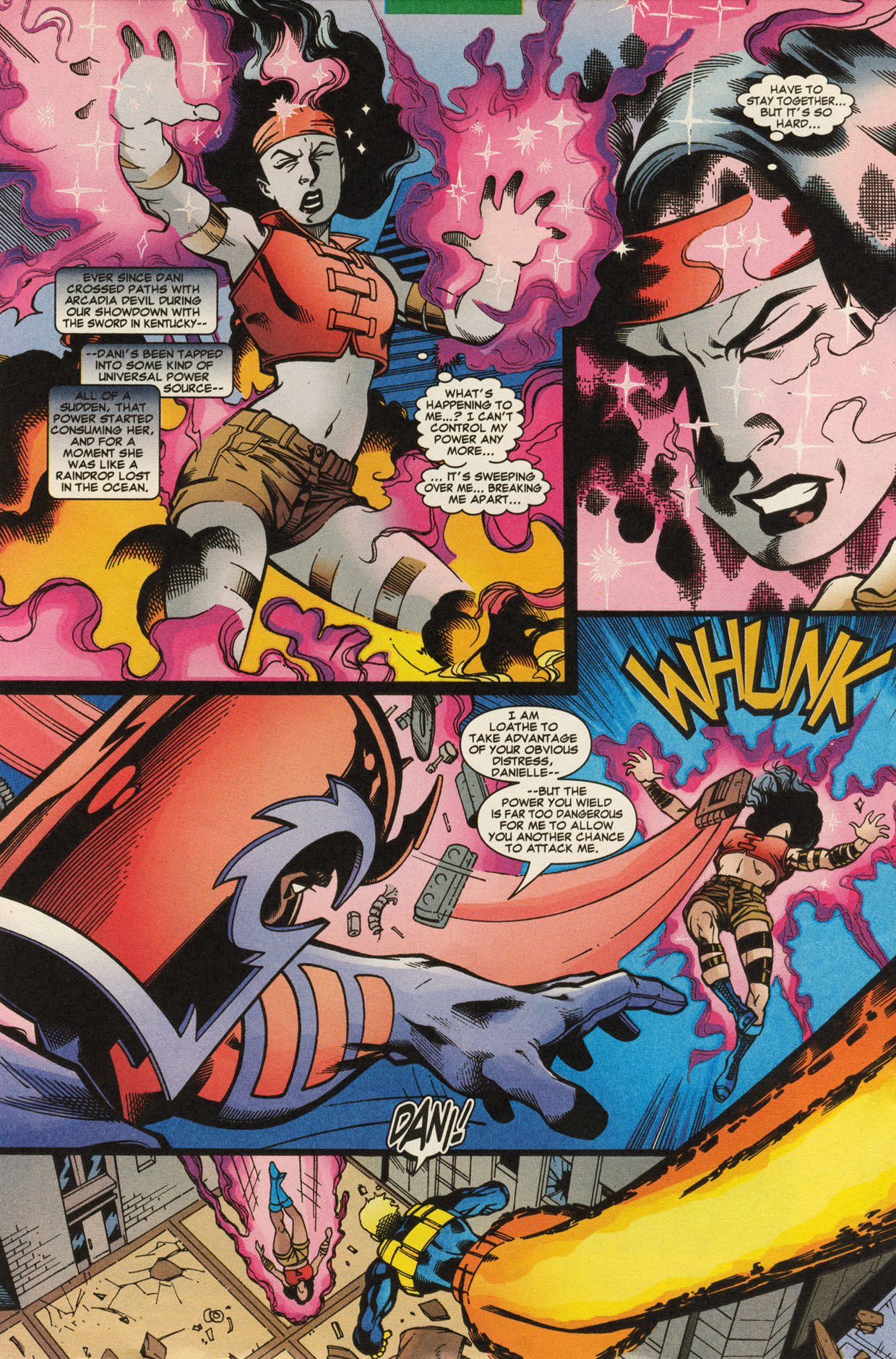 Read online X-Force (1991) comic -  Issue #95 - 23