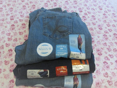 Jeans found at outlet for $5.97 a piece!   Vickie's Kitchen and Garden