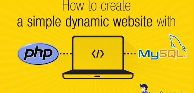 How to Create Dynamic Website with MySQL & PHP