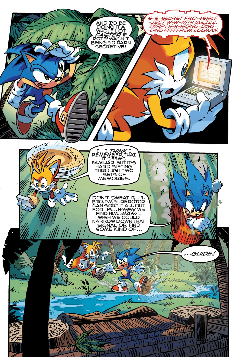 Read online Sonic The Hedgehog comic -  Issue #253 - 5
