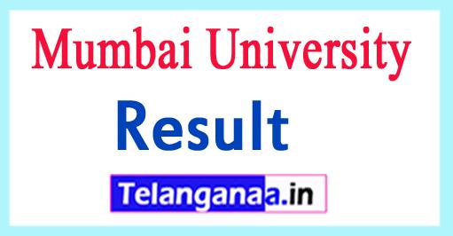 Mumbai Univeristy Exam Results 2018 Mumbai University UG PG Results
