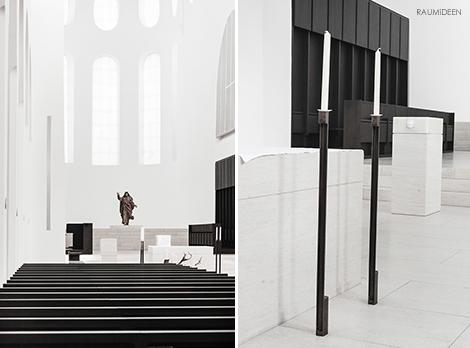 Die Moritzkirche in Augsburg von John Pawson