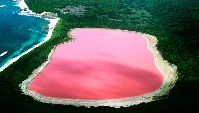 Maravillas Naturales Increíbles, Los Lagos De La Pantera Rosa 1