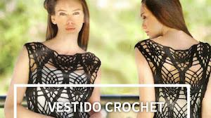 Vestido crochet punto piñas / patrones