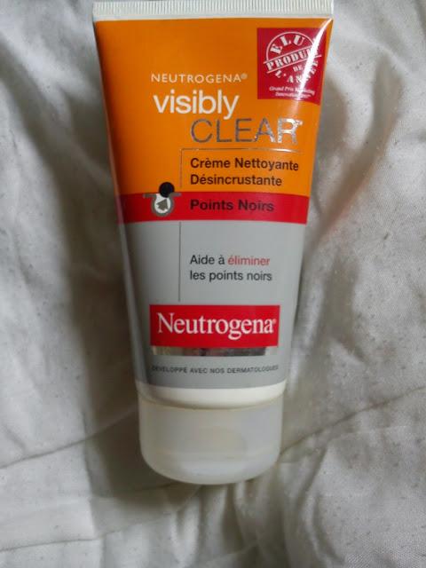 Crème Nettoyant Désincrustante Points Noirs - Visibly Clear - Neutrogena