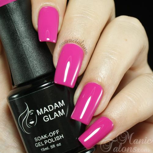 Madam Glam UV Gel 075 Magenta Swatch