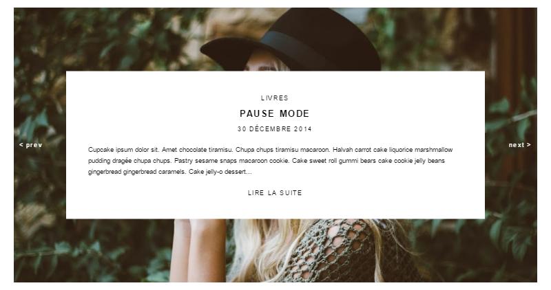 Ajouter un diaporama automatique des articles récents à Blogger