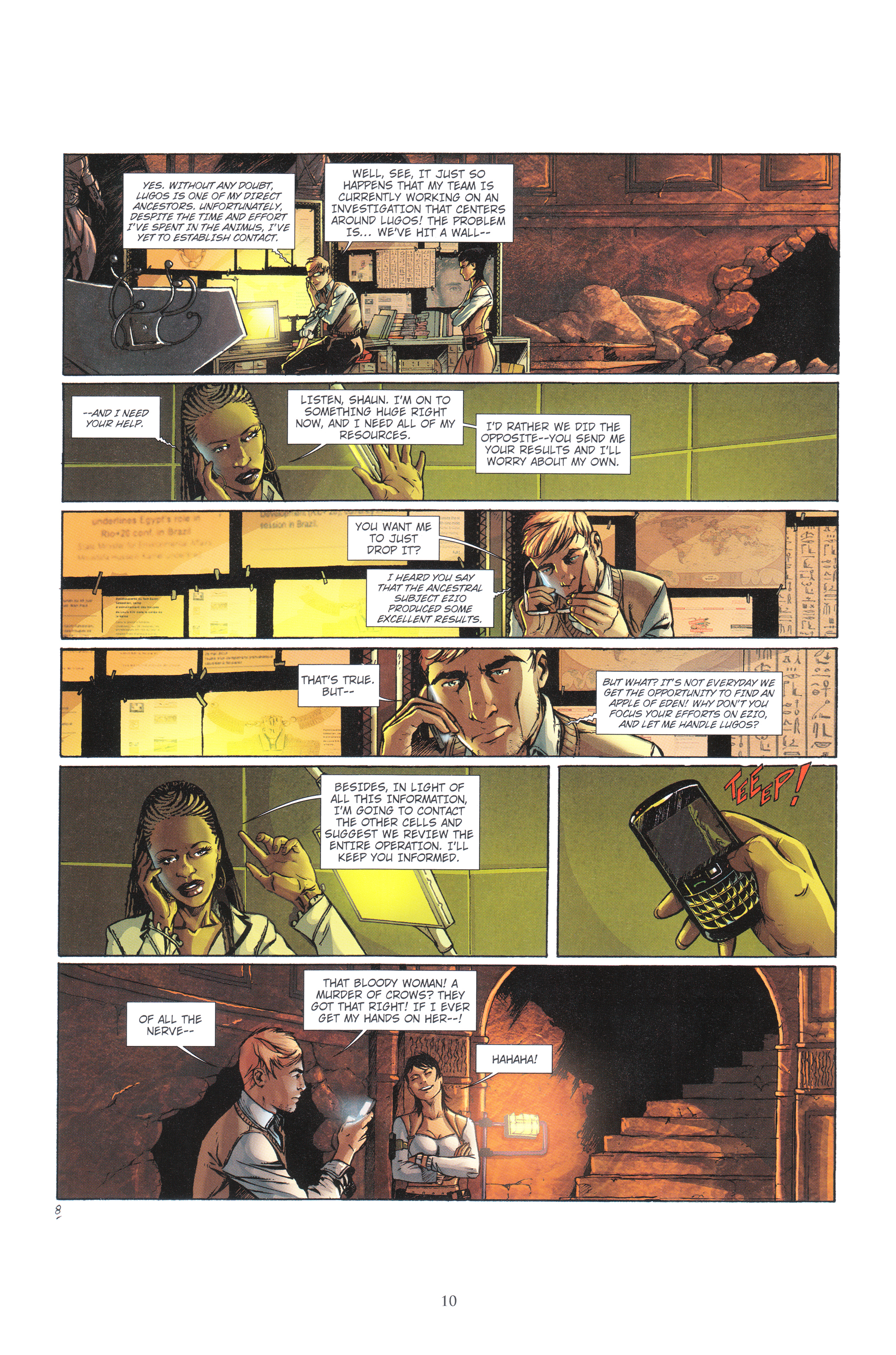 Read online Assassin's Creed (2012) comic -  Issue #4 - 10