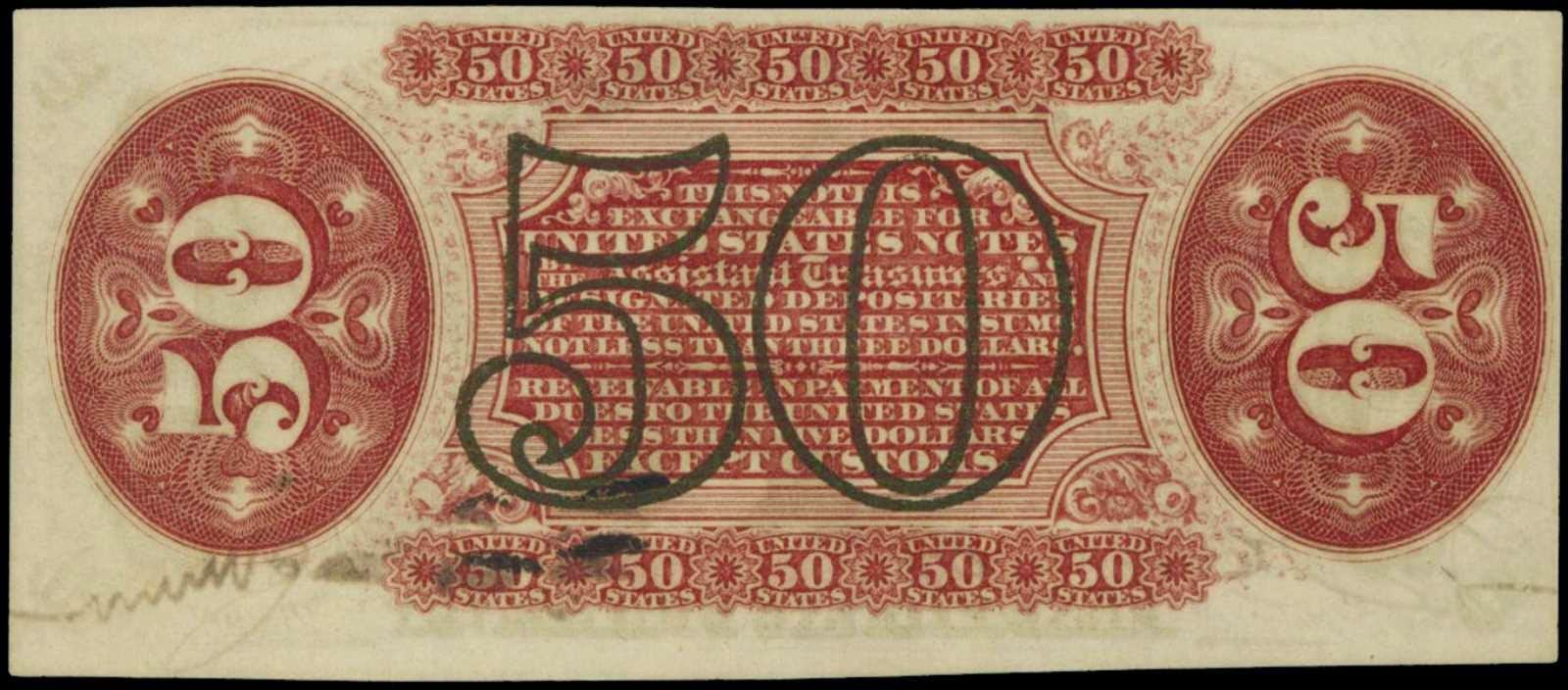 Fifty Cents Fractional Currency