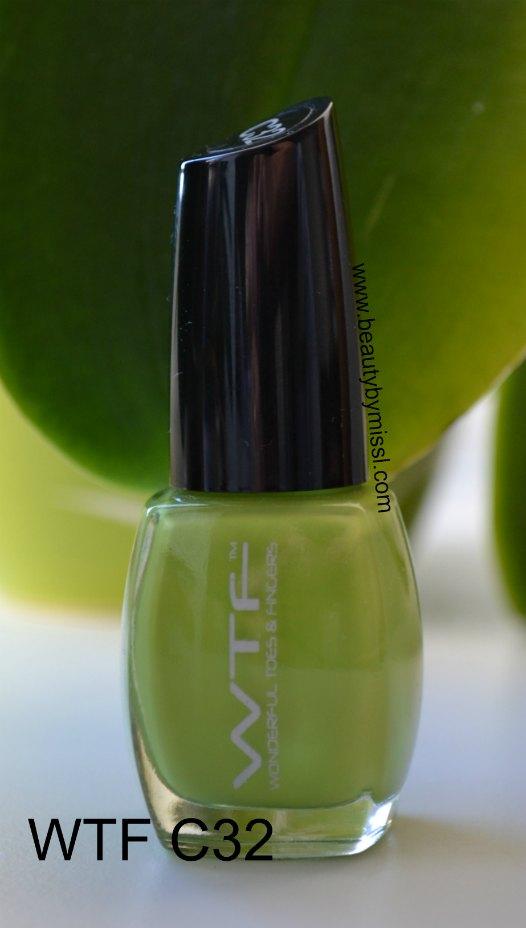 green nail polish, roheline küünelakk