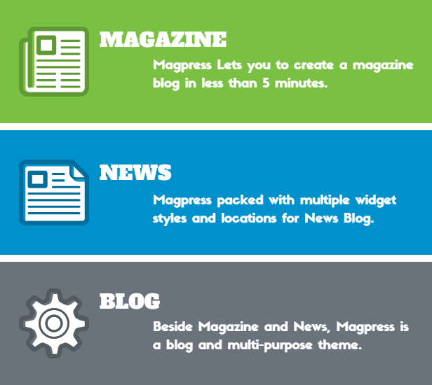Magpress - Magazine Responsive Blogger Template