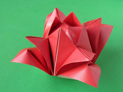 Origami, foto 1, Rosa 2 by Francesco Guarnieri