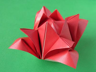 Origami, foto 1, Rosa 2 by Francesco Guarnieri