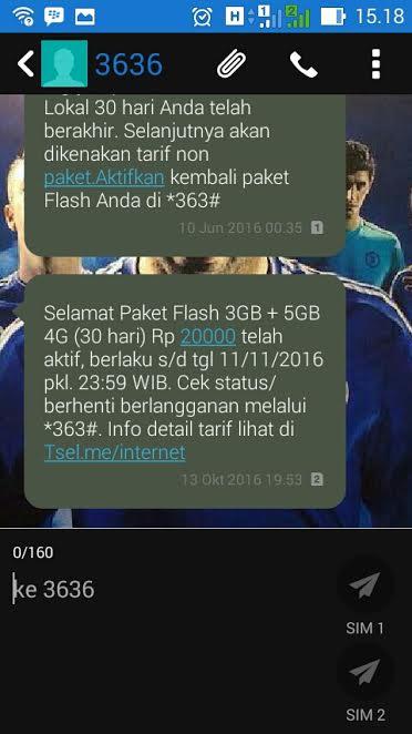 Paket Internet Telkomsel 3GB