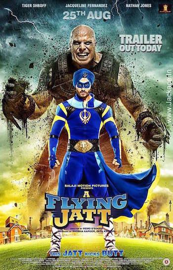 A Flying Jatt 2016 Full Movie Hindi HD 720P Download 700MB
