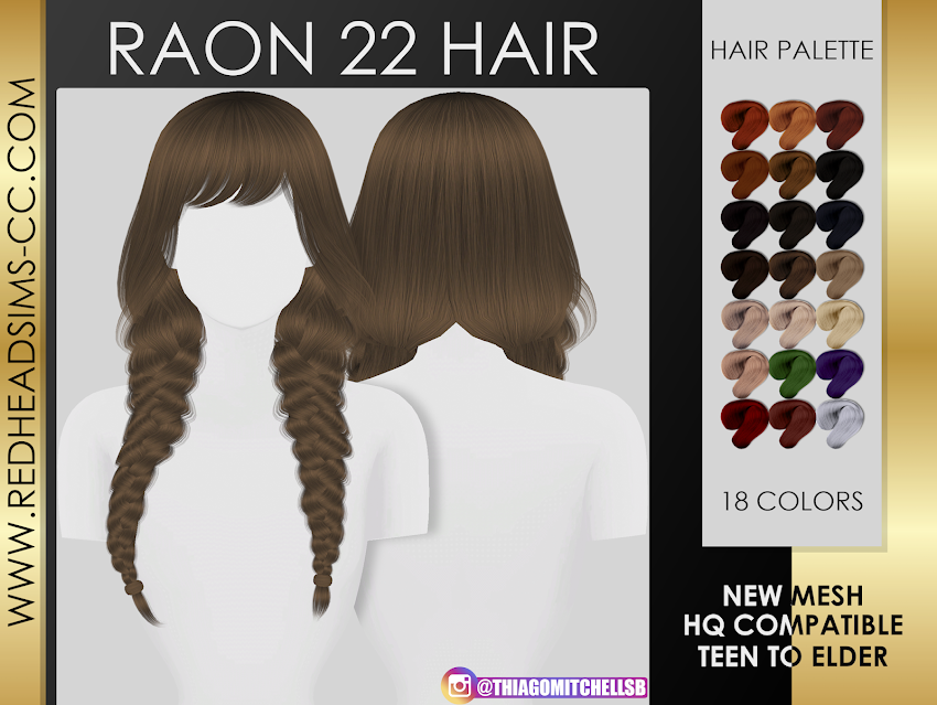 RAON 22 HAIR