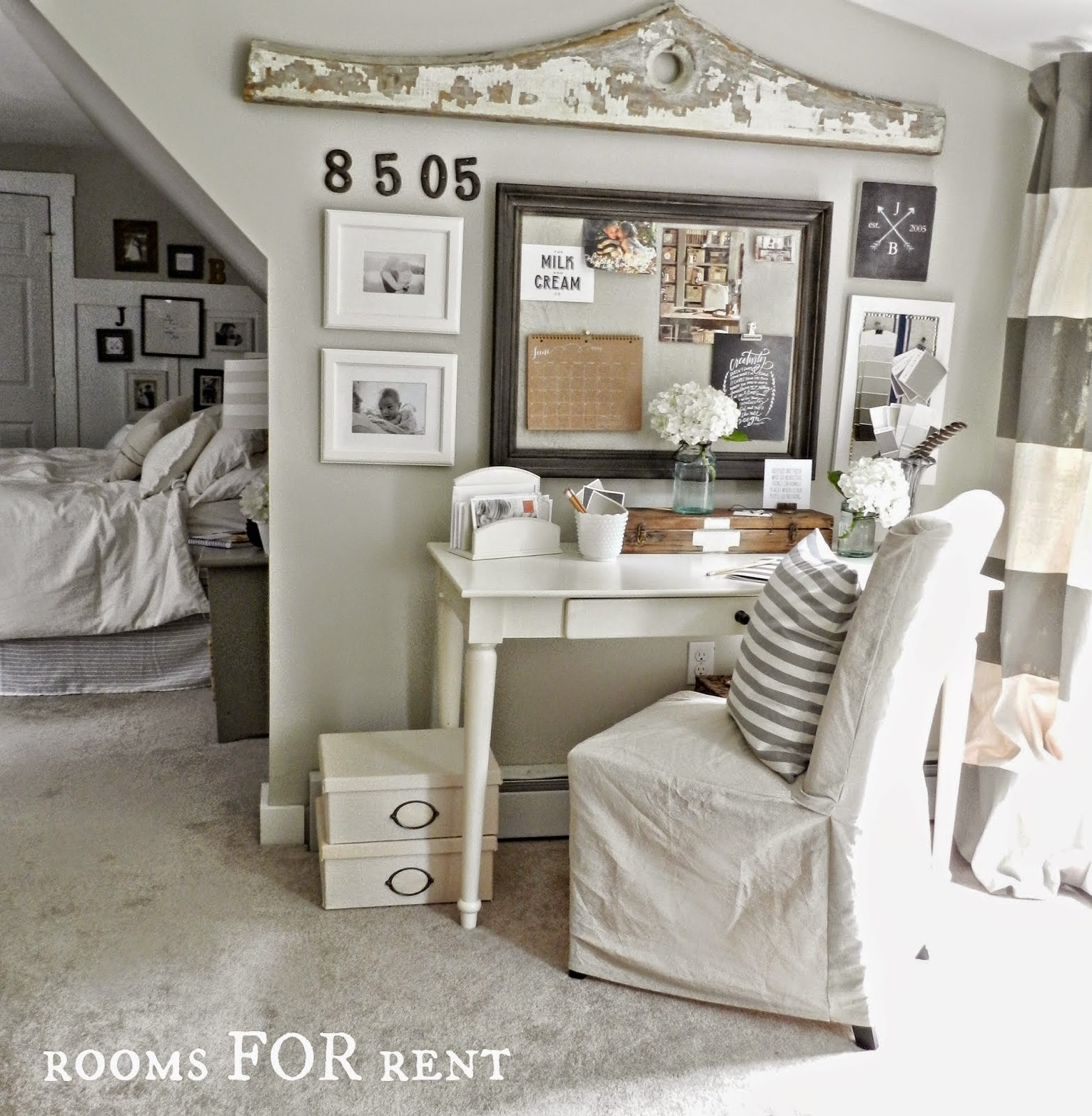 Bedroom Office: Style House-Rooms For Rent