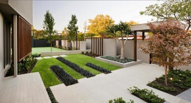 Desain Taman Modern.
