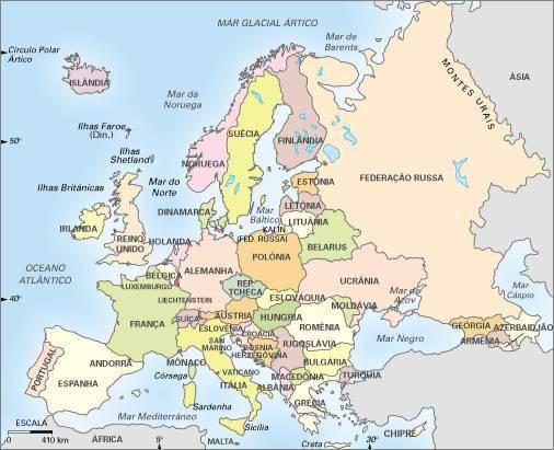 irlanda mapa europa Jornada pela Irlanda: Mapa da Europa!! irlanda mapa europa