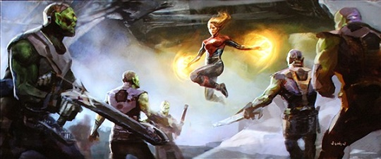 Resultado de imagem para capitã marvel marvel616 concept ar
