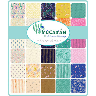 Yucatan Fabric by Annie Brady for Moda Fabrics