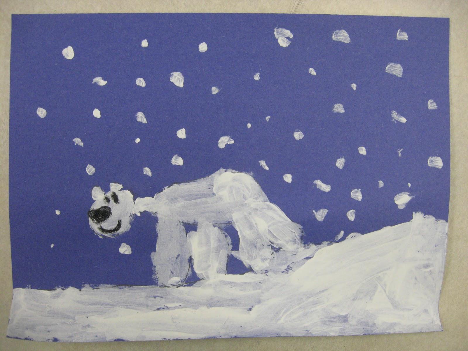 Miss Young S Art Room Kindergarten Polar Bears