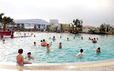 Bể bơi Mường Thanh