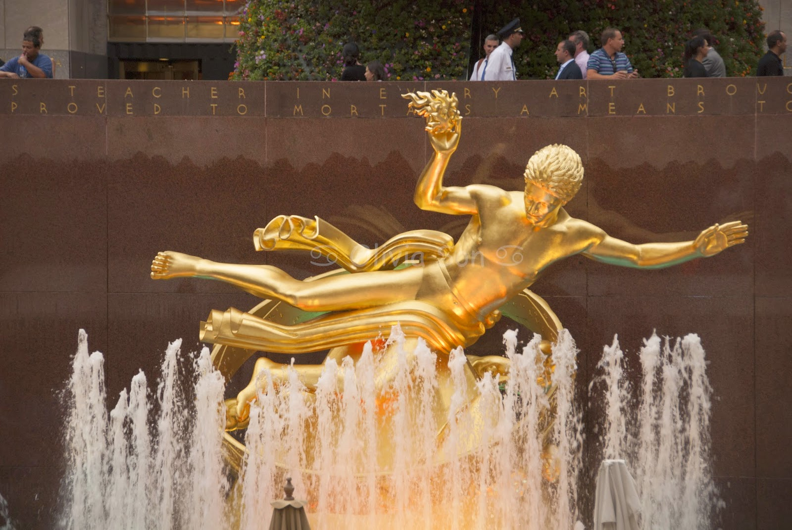 rockefeller center, new york city, usa